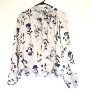 ASTR The Label Floral Blouse